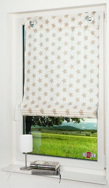 Blickdichte Raffrollos: Sichtschutz fließend und textil